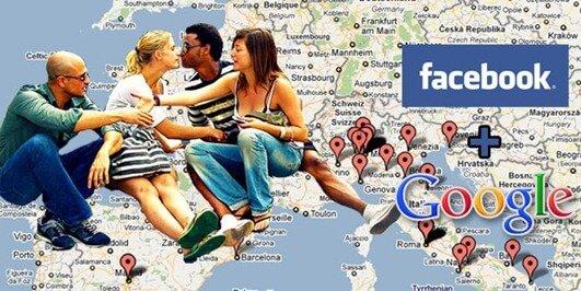 Come creare una mappa degli amici su Facebook