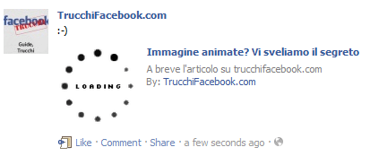 Come inserire immagini animate nelle note di Facebook