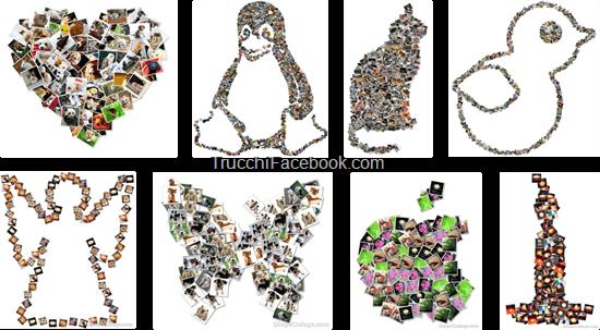 Applicazione e software per creare collage con le foto di Facebook