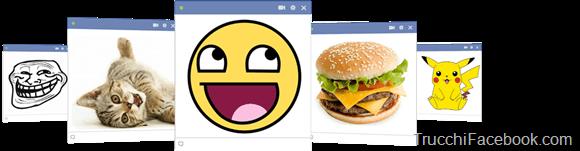 Come creare immagini grandi per la chat su Facebook