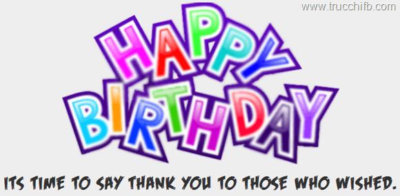Famoso Come ringraziare gli amici in automatico per il tuo compleanno SM32