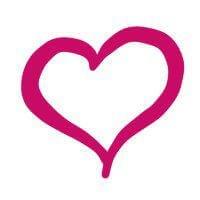 Lista di faccine con segni rosa fucsia
