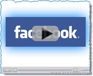 Video Facebook con tasto play