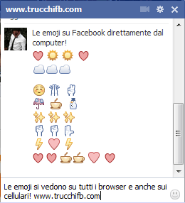 emoji facebook chat
