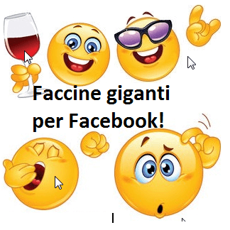 Emoticon giganti per Facebook – Parte 2/2