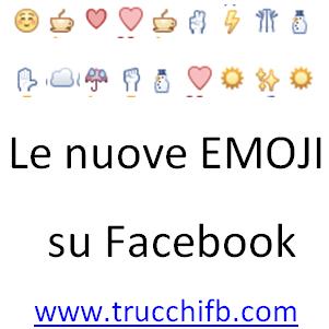 Lista di emoji per Facebook