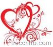 cuore decorato