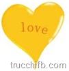 cuore giallo love