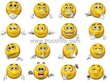Lista di emoticon con mani per Facebook
