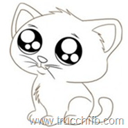 emoticon gatto dolce