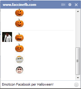 chat emoticons halloween