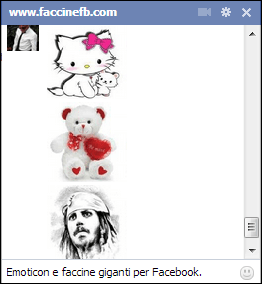 emoticon immagini grandi chat facebook