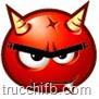 emoticon rossa diavolo con corna