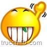 emoticon sorriso mentadent