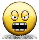 faccina arrabbiata che grida