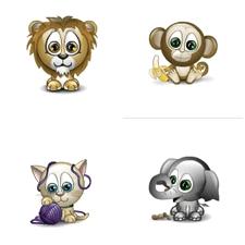 Come inviare le emoticon di animali in chat