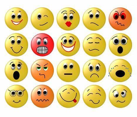 Nuova lista di smile grandi per Facebook