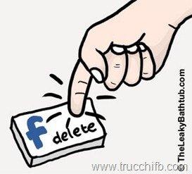 pagina facebook eliminata