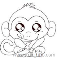 scimmietta dolcissima