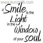 smile is the light