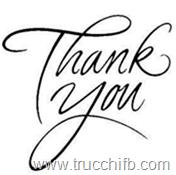 thank you grazie