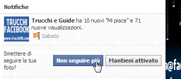 come controllare le notifiche su Facebook