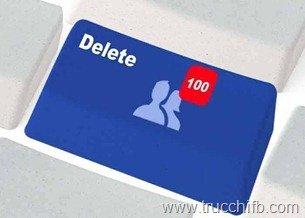 come eliminare più amici da facebook