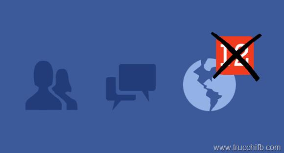 Come disattivare le notifiche su Facebook