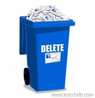 elimina messaggi facebook