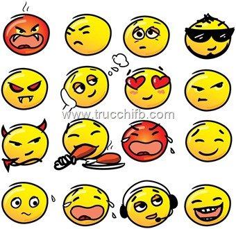 Lista di Emoticon grandi per Facebook 2013 (Parte 1/2)