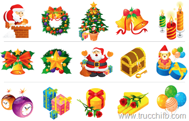 emoticon grandi natale