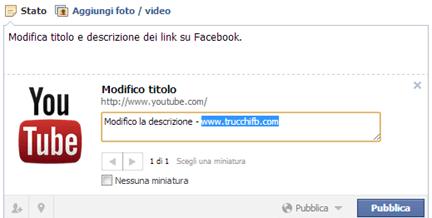 modifica anteprima link facebook
