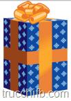 regalo blu