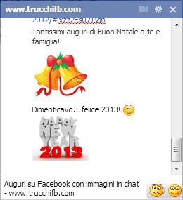 buon natale buon 2013 su Facebook