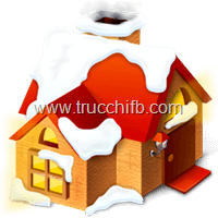 casa con neve