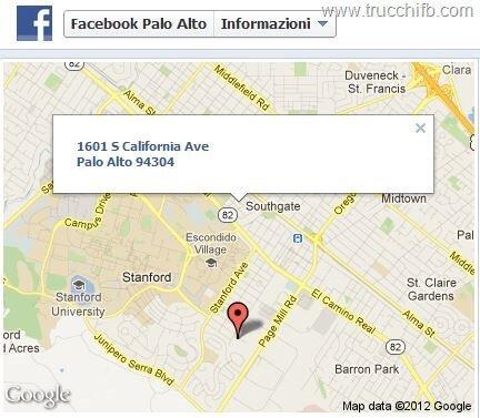 mappe google facebook