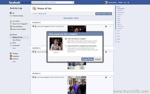 Nel 2013 nuovi controlli per la privacy su Facebook