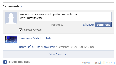 commento gif gangnam facebook style
