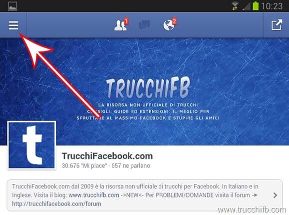 menu-facebook-android