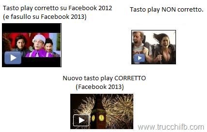 tasto play Facebook