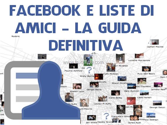 La guida definitiva alle liste su Facebook