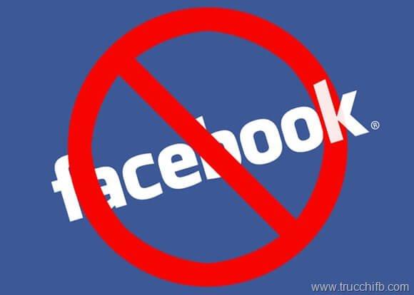 blocca applicazioni facebook