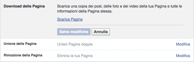 download pagina facebook