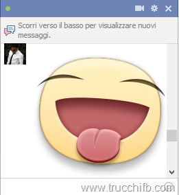 Come inviare adesivi (sticker) in chat su Facebook