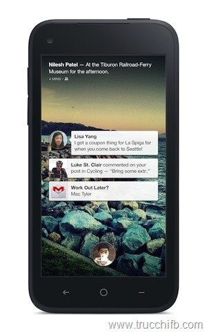 Facebook home sul cellulare