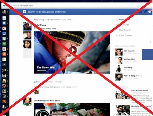 Come tornare alla vecchia grafica di Facebook