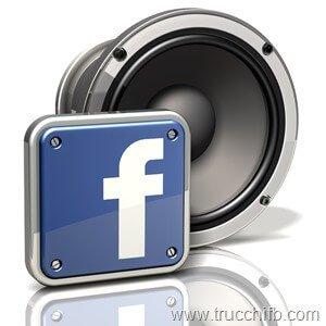 personalizzare suoni facebook