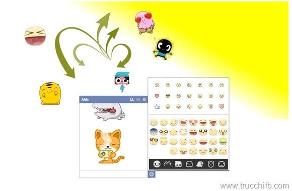 stickers for facebook