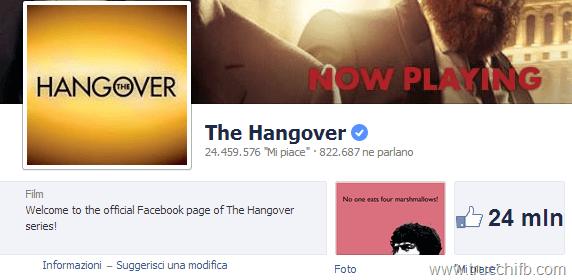 the hangover facebook
