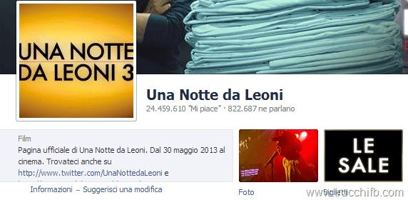 una notte da leoni facebook